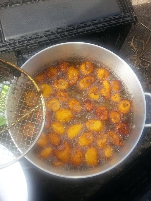 Congresso Cubano's croquettas are fried to order.