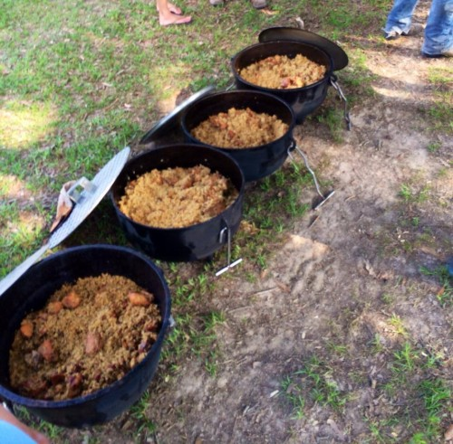 Over 100 contestants will participate in the Jambalaya cook-off competition at Gonzalez's Jambalaya Festival.