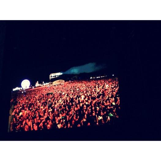 What 40,000 fans looks like. Photo c/o Sam Allouche
