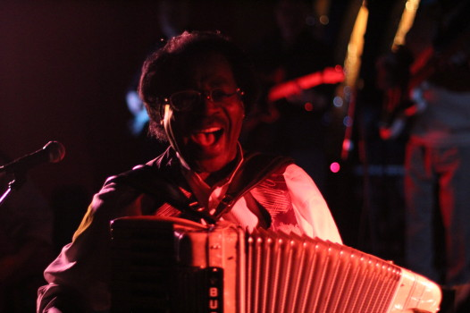Buckwheat Zydeco and Ils Son Partis Band Saturday, March 8th, 2014 at Mahall's Twenty Lanes in Lakewood, Ohio.