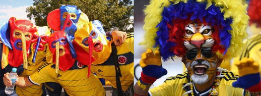 The New York Daily News has gathered 50 photos of the craziest World Cup fans. (Photos: New York Daily News)