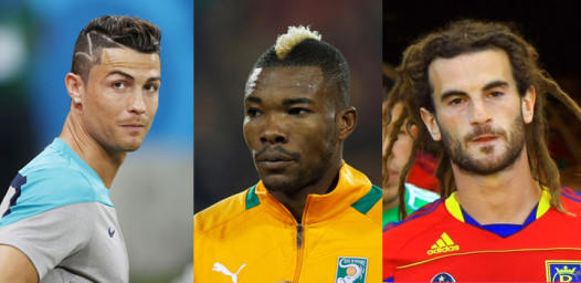 Hair statements at World Cup: Portugal's Ronaldo, Ivory Coast's Geoffory Serey Die and American Kyle Beckerman