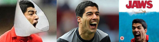 Fans are having fun with the Saurez Biting Incident, as these parodies making the rounds attest.