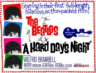 """The Prytania Theatre will screen the Beatles' first full-length film, """"A Hard Day's Night,"""" this weekend."""