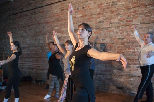 In addition to hip-hop, Dancing Grounds offers classes in ballet, salsa and yoga.
