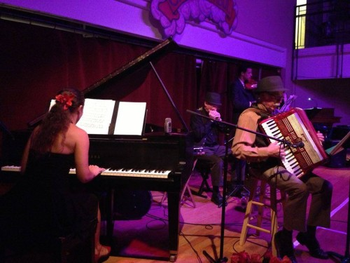 As part of a free tango night at The Little Gem Saloon, local tango orchestra Orquesta Fleur will provide live music.