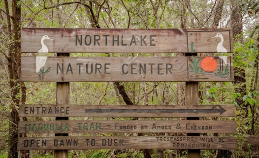 Saturday evening, the Northlake Nature Center hosts a night hike, complete with snoballs.