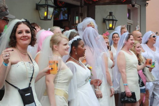 On Saturday, the Creativity Collective hosts their second annual Bridal-themed pub crawl.