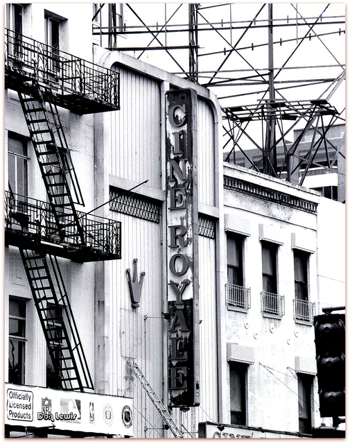 """The former Cine Royale Theatre on Canal Street, famous for its """"nature"""" and """"bad girl"""" films. Photo: Cinematreasures.org, contributed by Don Lewis"""