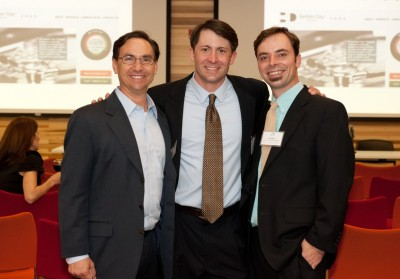 Co-founders of Better Day Health Rand and Peter Ragusa, and Jeff Miller. Photo: #IDEAInsider