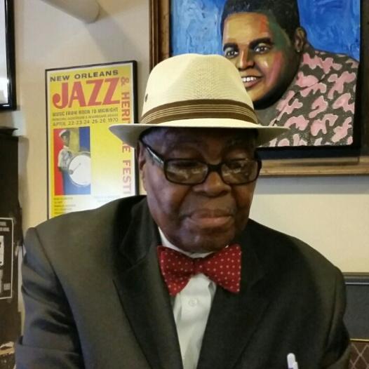 Lawrence Cotton, local pianoman legend