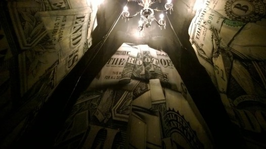 Light play inside the chapel (Photo: Dan Tague)