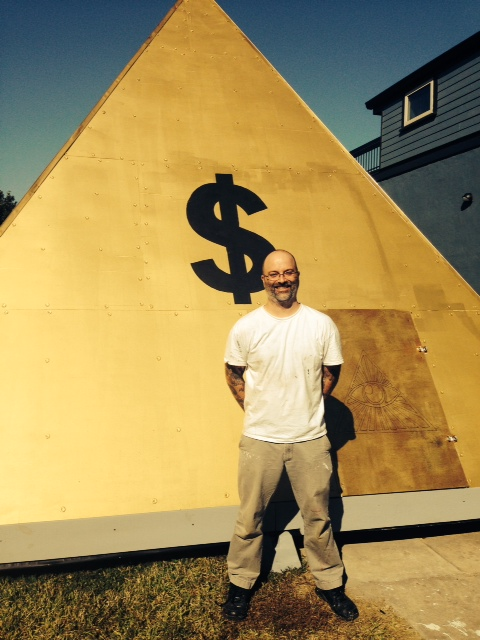 Dan Tague and The Chapel of the Almighty Dollar