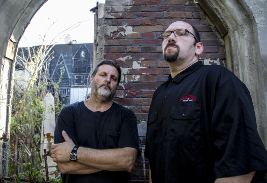 Jay Gracianette and Ross Karpelman started House of Shock 22 years ago.