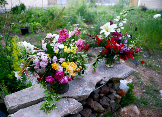 The 'slow flower' movement practices and teaches local horticulture.