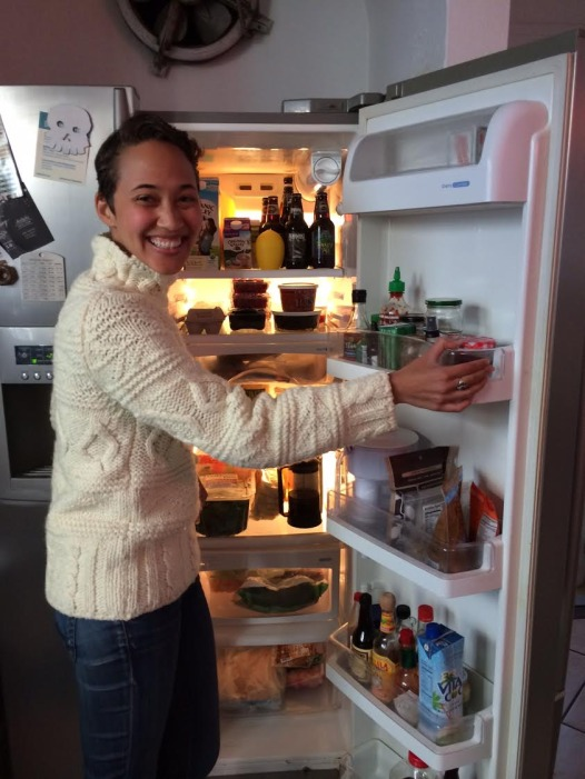 Cameron Shaw reveals the contents of her personal refrigerator.