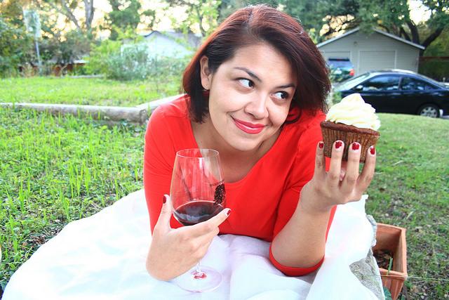 Comedian Vanessa Gonzalez. Photo: Kana Shae