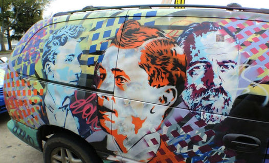 Brent Houzenga's Car Art