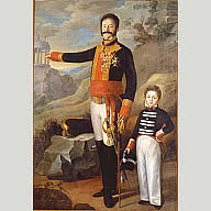 General Charles Favre D'Aunoy and Son (Photo courtesy Louisiana State Museum)