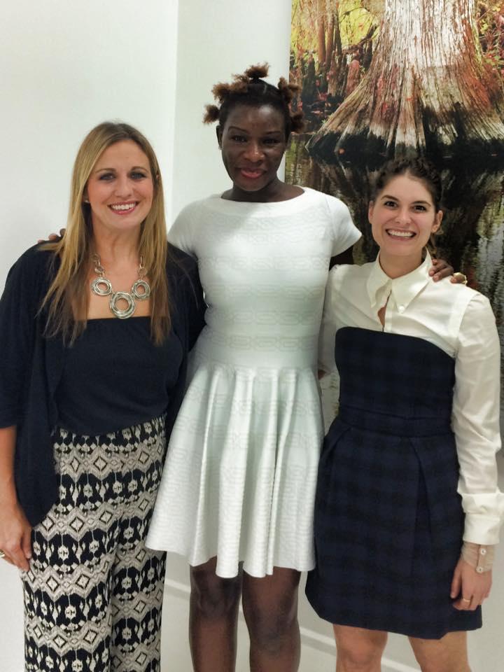 The od AOMO team (from left to right: Amy Schum, Dr. Sophia Aomo Omoro, Hadley Bernstein) (Photo: od AOMO Facebook)
