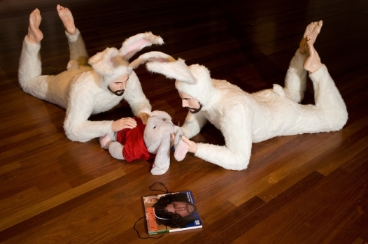 'Self-Portrait as Bunnies (Hubris)' (Photo: alexpodesta.com)