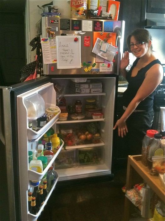 Hollygrove Market communications and community outreach specialist Rie Ma reveals the contents of her home refrigerator.