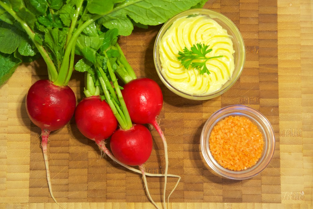 Radishes and butter 1