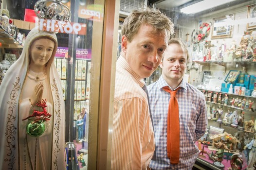 Charlie Stockman and Chuck Armstrong form the comedy duo charles (Photo: Charles Comedy)