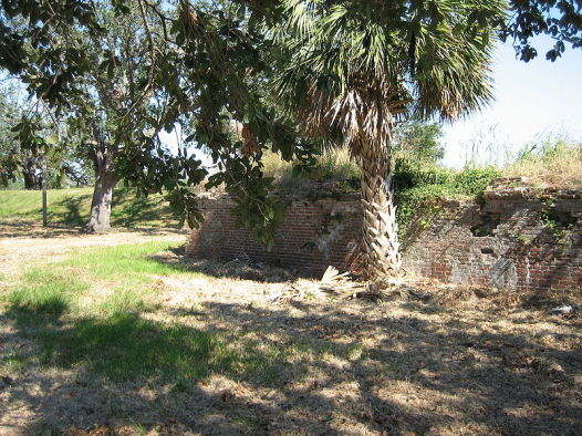 Present-day ruins of Fort St. John (Photo: Wikipedia)