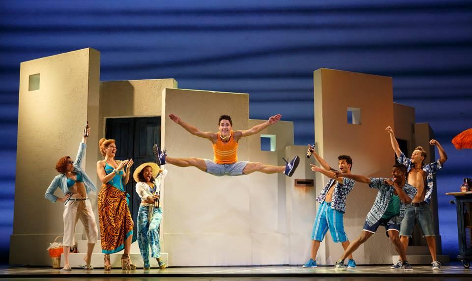 Mamma Mia! plays at the Saenger Theatre through January 18.