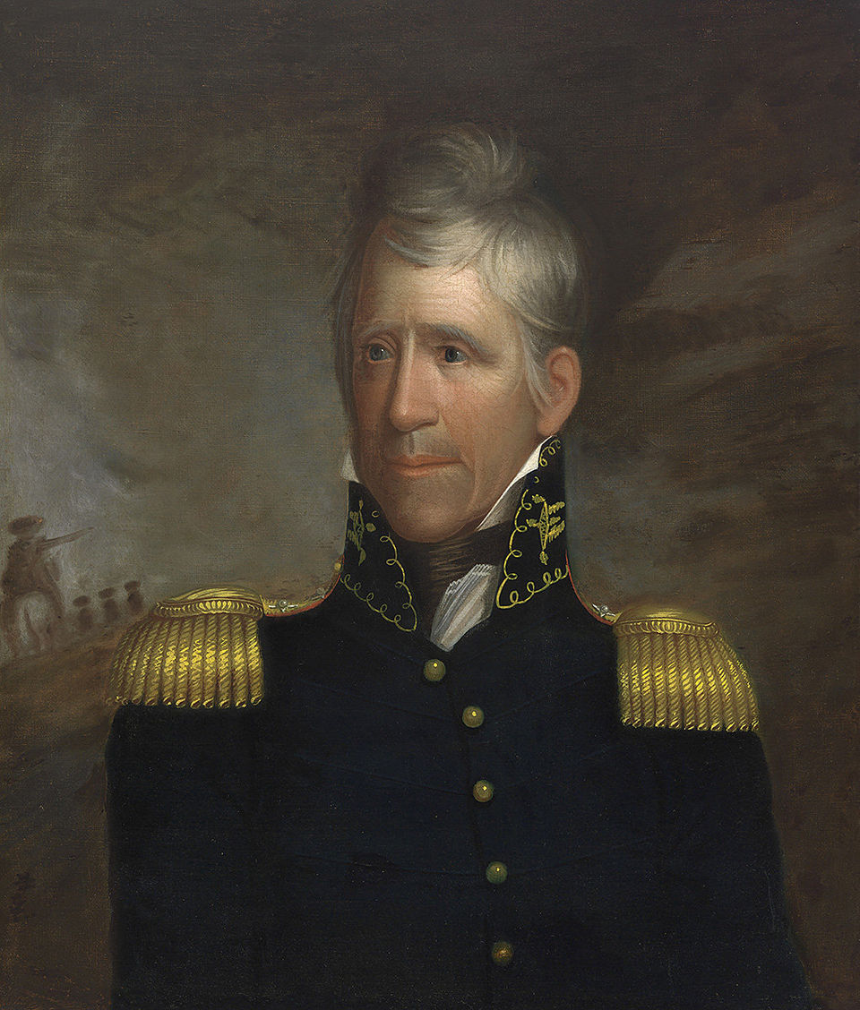 Andrew Jackson, Ralph Eleaser Whiteside Earl, ca. 1817 (Photo: courtesy of the National Portrait Gallery, Smithsonian Institution)