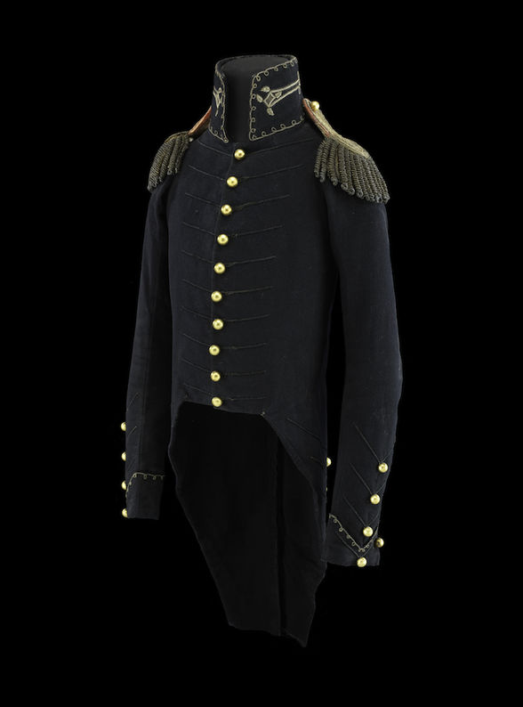Andrew Jackson's uniform jacket worn at the Battle of New Orleans. (Photo: courtesy Louisiana State Museum)