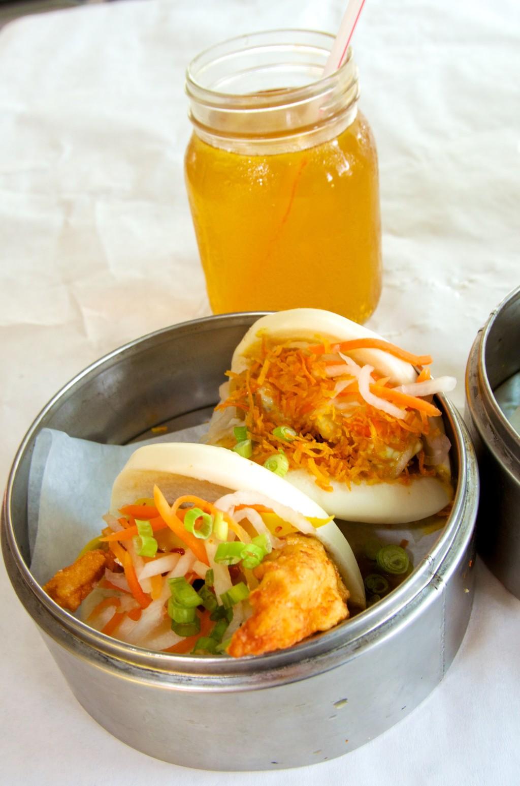 """""""Bacos"""" (Vietnamese tacos) at Ba Chi Canteen"""
