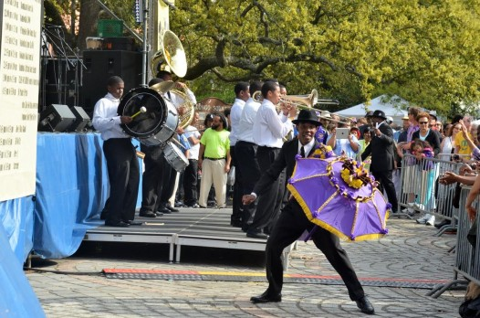 The fourth annual Brass Got Class? competitoin is part of the Congo Square (Photo: Kim Welsh?