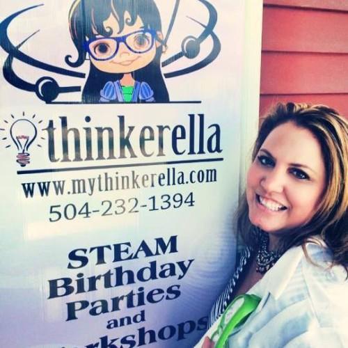 Thinkerella Cherie Melancon Franz: turning STEM to STEAM (science, technology, engineering, art and math)
