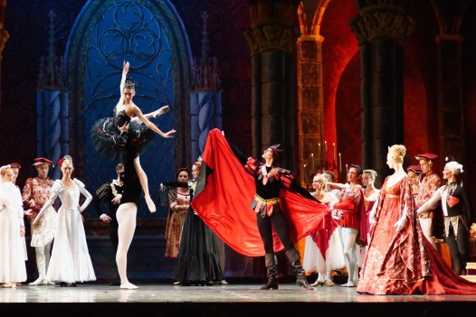 Russian-based Saint Petersburg Ballet Theater presents a version of Swan Lake at the Mahalia Jackson Theater on Thursday, April, 23.