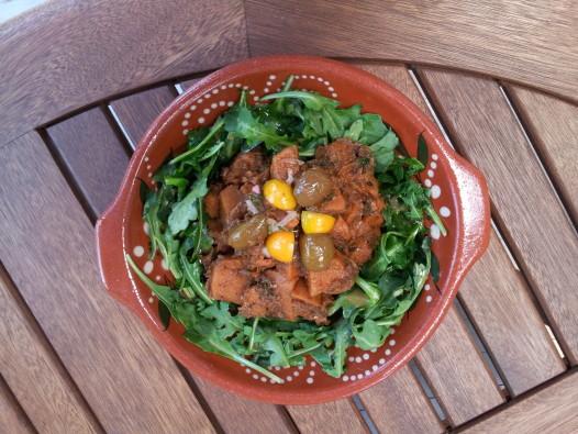 Sweet potato salad (photo: Jean-Mark Sens)