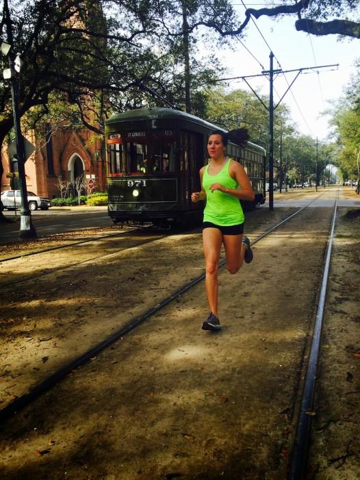 The St. Charles Avenue runner's high