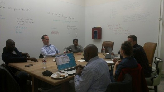 Not-for-profit organization Vet Launch helps vets transition from military life in to new civilian careers, specifically focused on entrepreneurship. Pictured: Vet Launch business accelerator fellows hard at work in their collaborative space at Launch Pad.