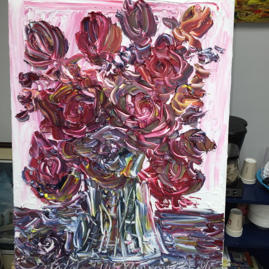 Roses, by Eddie Mormon (Photo: Renee Peck)