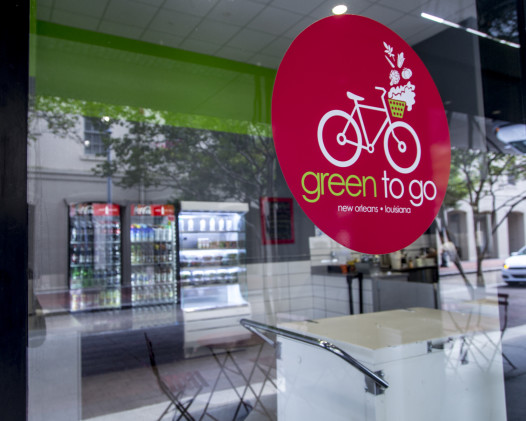 The Green to Go cafe at 400 Poydras opened last year. (Photo: Hanna Rasanen)