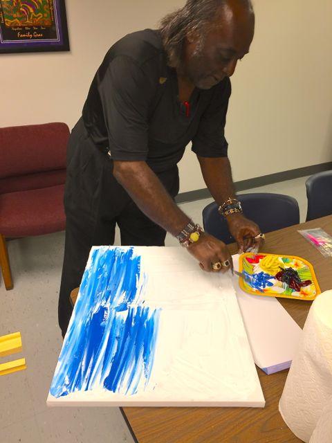 Artist Eddie Mormon (Photo: Renee Peck)