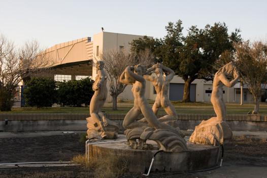 Statuesque New Orleans Enrique Alferez Fountain of the Four Winds