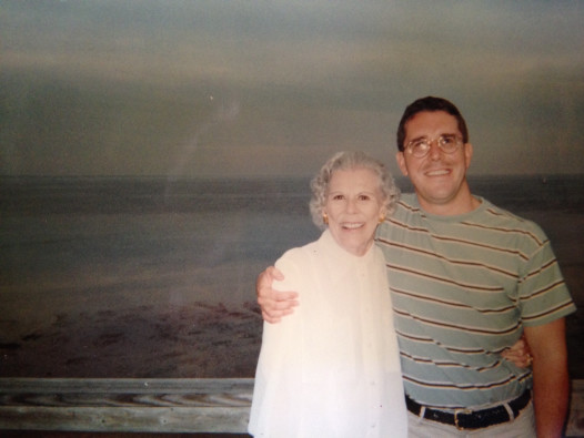 Brett Will Taylor with his grandmother (Photo: Brett Will Taylor Today)