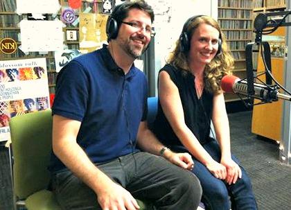 Phillip Schuessler and Kari Besharse (Photo: Joe Shriner)