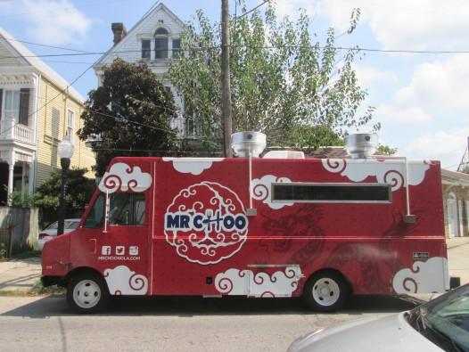 New Asian fusion food truck Mr. Choo.