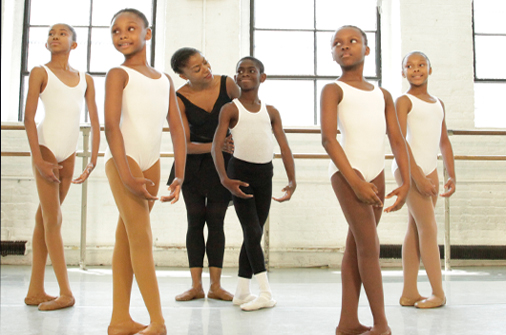 Nikki Hefko teaches at New Orleans School of Ballet.
