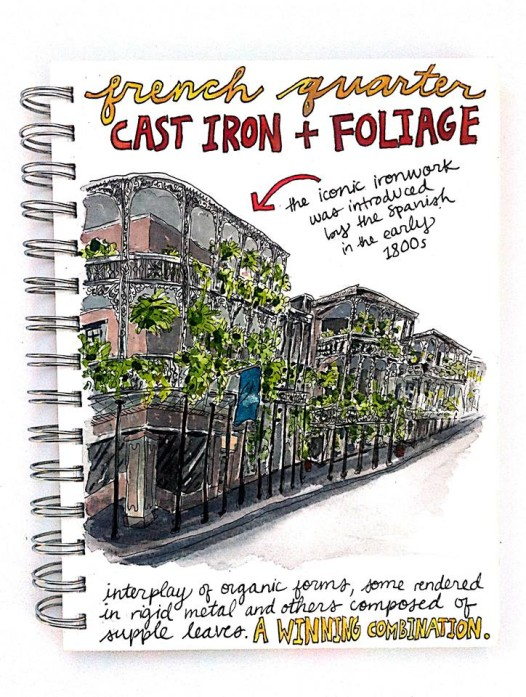 Iron and Foilage