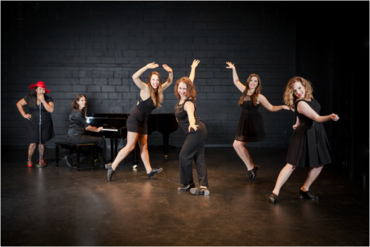 'Love Taps' takes to the stage at NOCCA's Nims Blackbox Theater this weekend and next. (Photo: www.theatreontap.com)