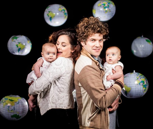 Holy Cross residents Sarah Fontanelle, Alex Smith and their twins Cecil and Poet